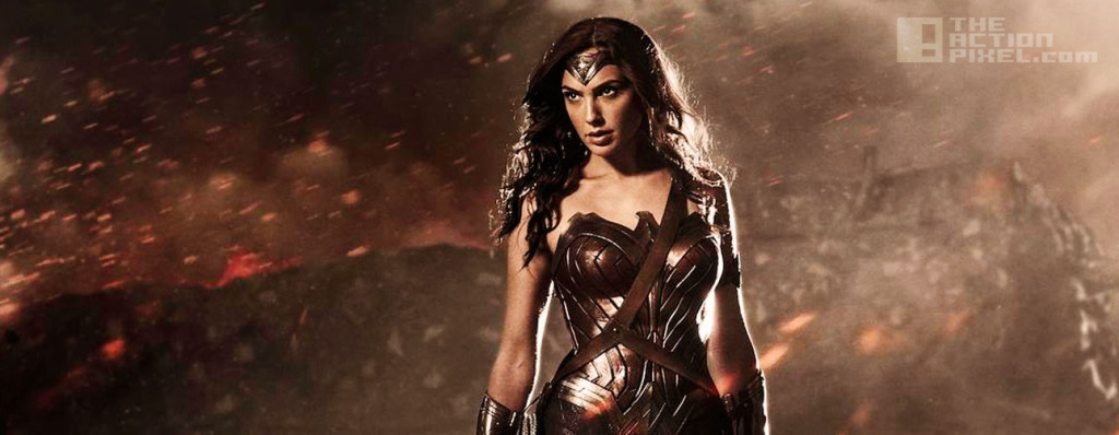 Gal Gadot as Wonder Woman in BVS: Dawn Of Justice