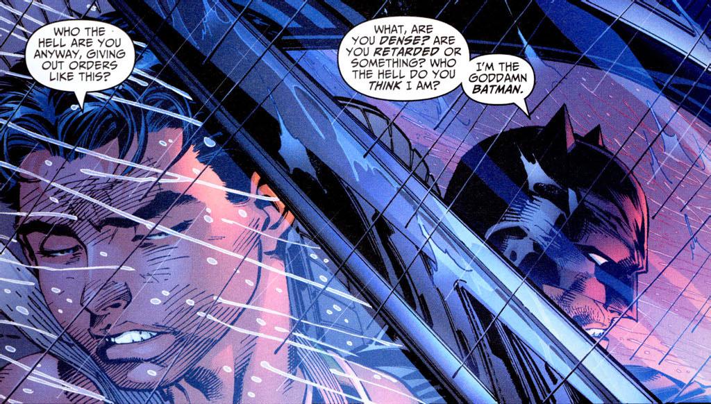 The Goddamn Batman © DC Comics