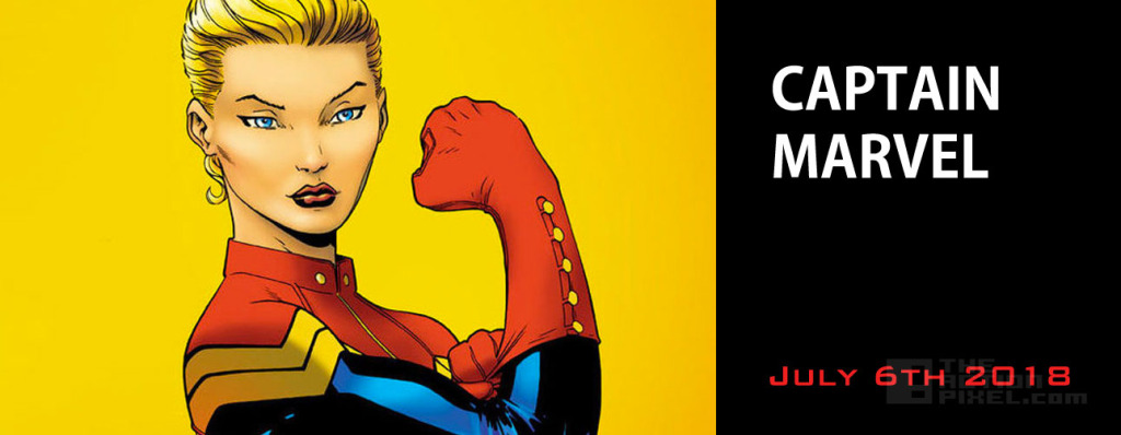 Captain Marvel – July 6,  2018