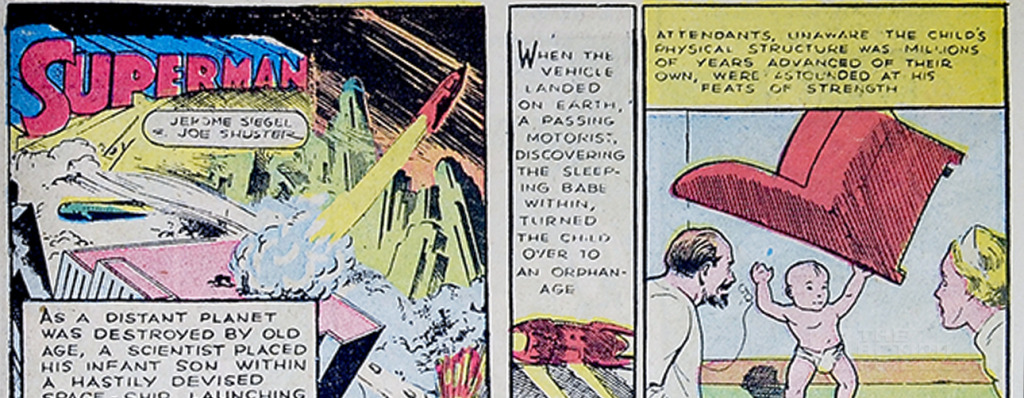 Action Comics #1: Superman. THE ACTION PIXEL @theactionpixel