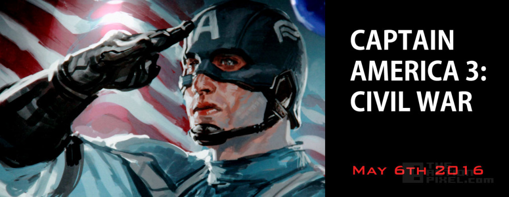 Captain America 3: Civil War – May 6, 2016
