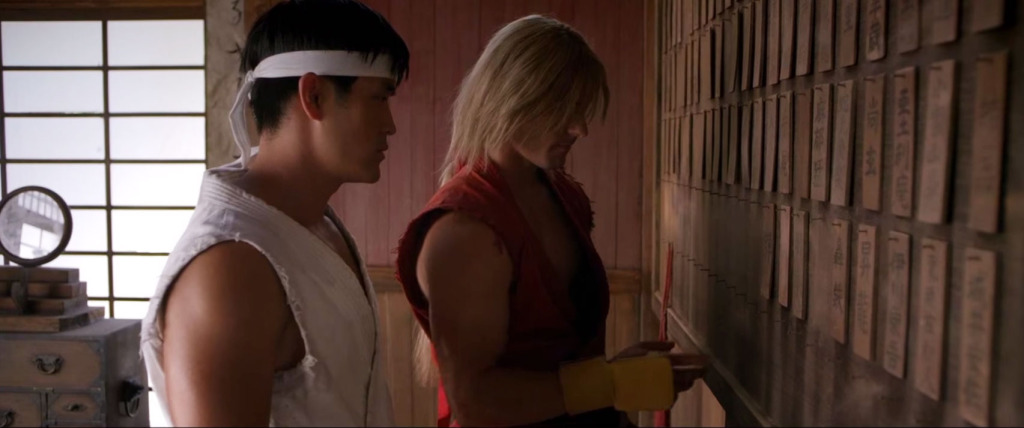 Ryu (Mike Moh) and Ken (Christian Howard) in Street Fighter: Assassin's Fist.