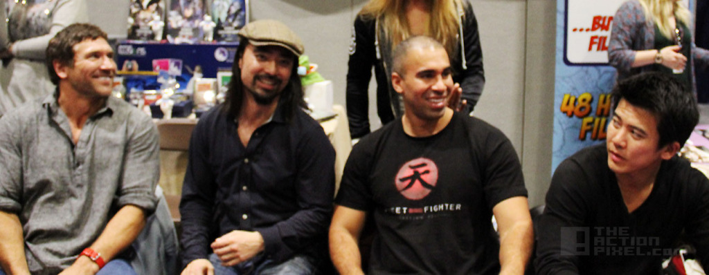 Street Fighter: Assassin's Fist Cast / Team at MCM Expo London ComicCon