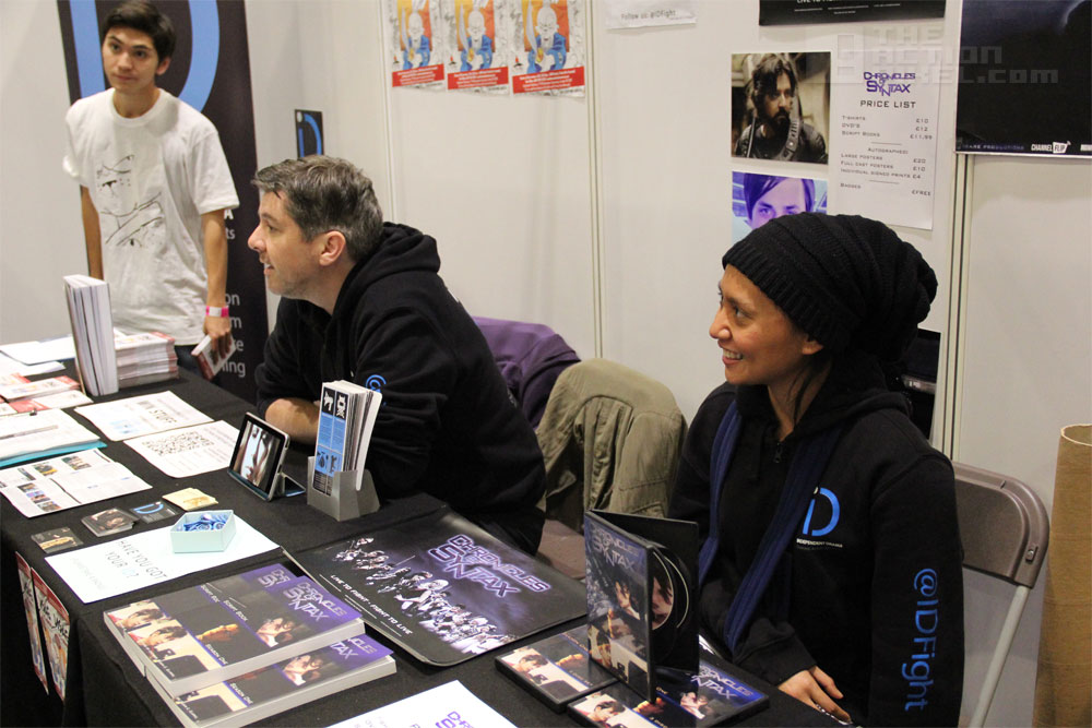 Dita and Chronicles Of Syntax / ID booth at MCM Expo London Comic Con