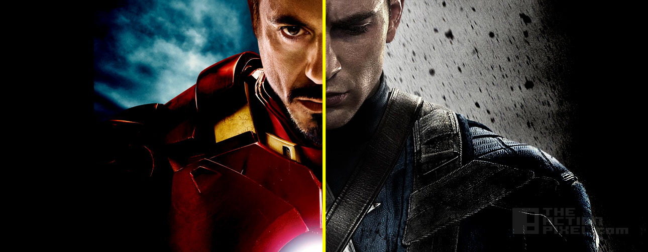Ironman V Captain America Civil War