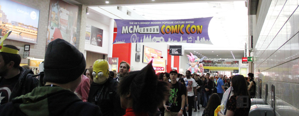 The Action Pixel at MCM Expo #LondonComicCon