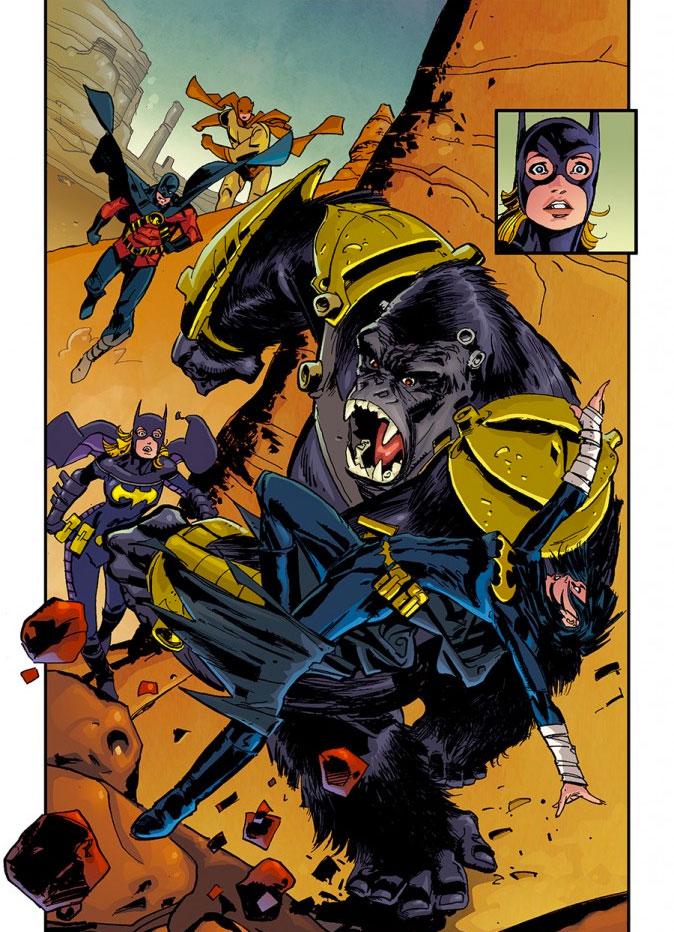 """Batgirl"" Exclusive Art  from DC Comics ""Convergence""  THE ACTION PIXEL @theactionpixel"