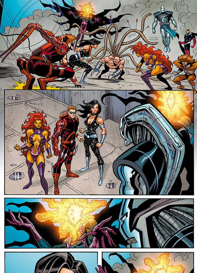 """""""Titans"""" Exclusive Art  from DC Comics """"Convergence""""  THE ACTION PIXEL @theactionpixel"""