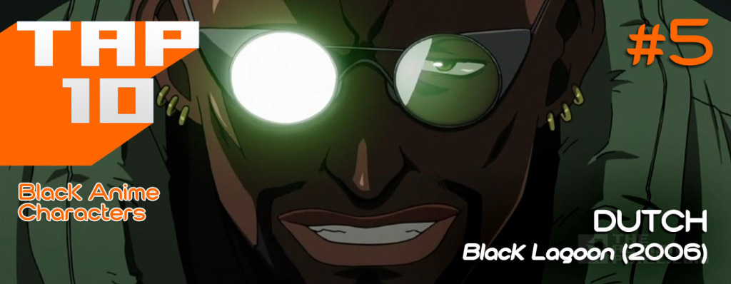 #TAP10 Black Anime Characters. Top 10 list. The Action Pixel. @theactionpixel