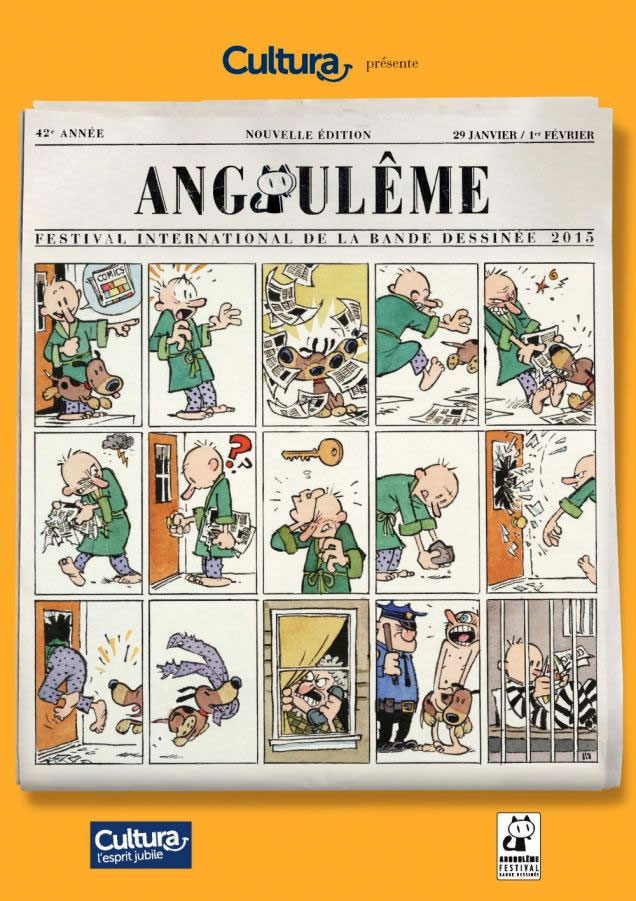 Angoulême Comic Poster. THE ACTION PIXEL @theactionpixel