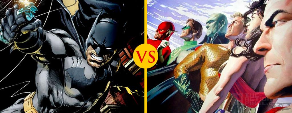 Batman vs. Justice League THE ACTION PIXEL @TheActionPixel