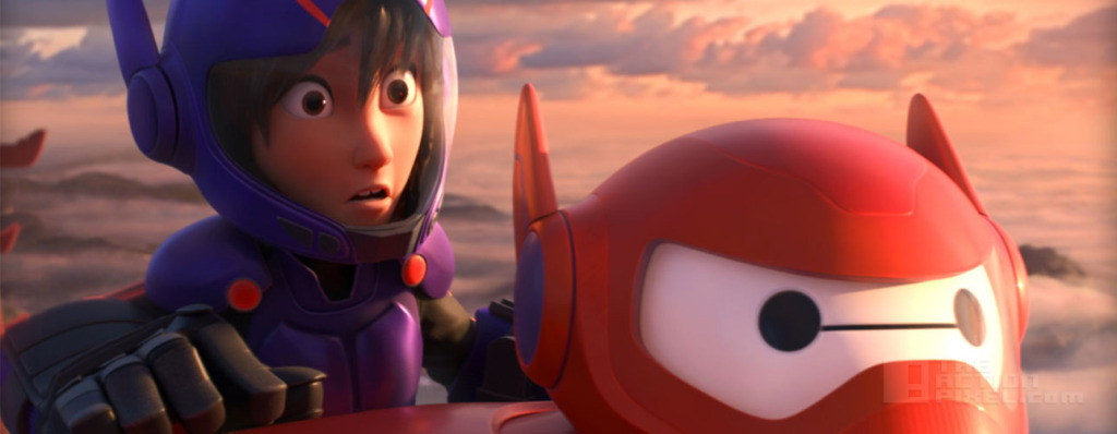 Hiro and Baymax in Big Hero 6 THE ACTION PIXEL @theactionpixel