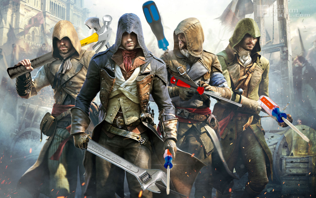 Assassin's Creed: Unity 300+ fix.  The Action Pixel. @theactionpixel