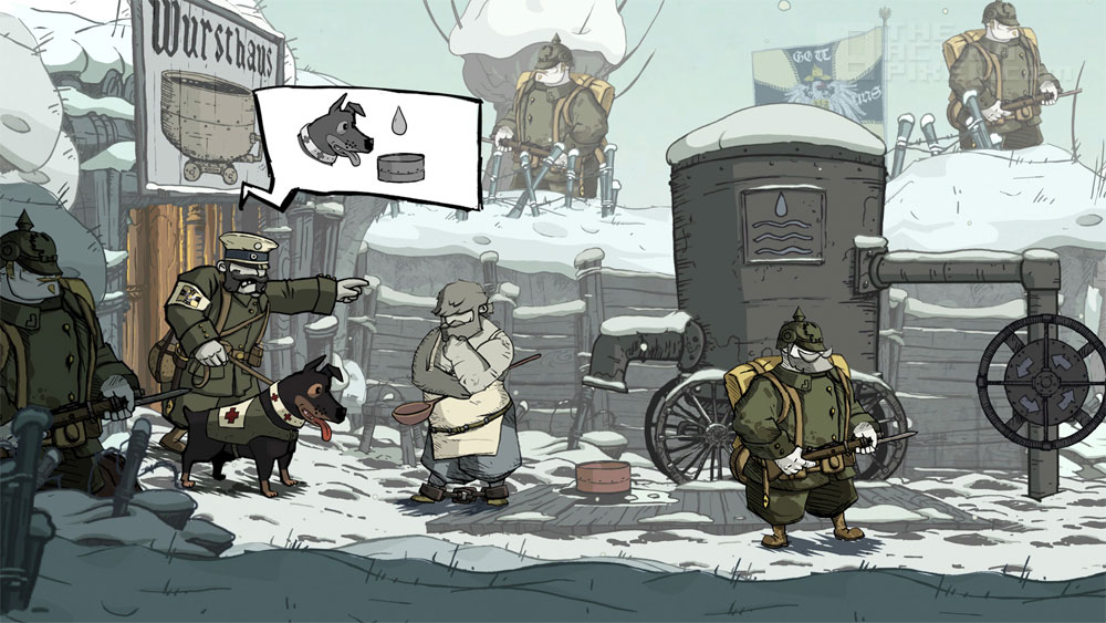 """Valiant Hearts: The Great War. """"One Word: Beautiful"""". THE ACTION PIXEL @theactionpixel"""