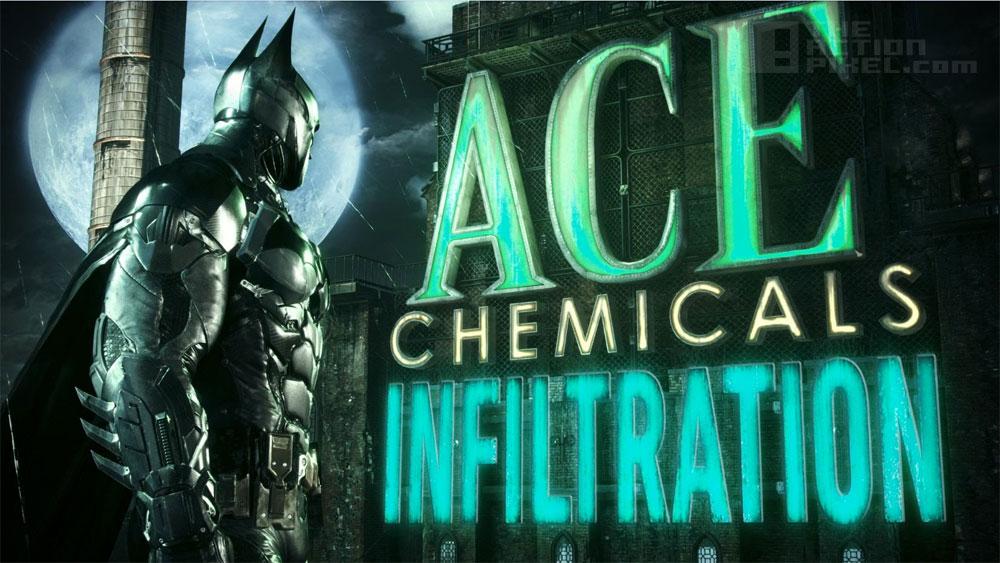 batman Ace Chemicals Illfiltration. The Action Pixel. @TheActionPixel