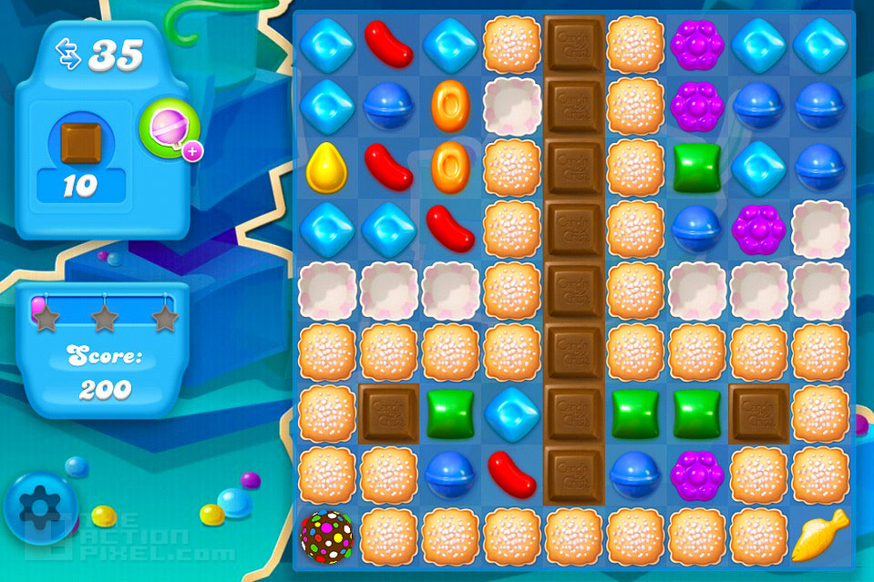 candy crush Soda: THE ACTION PIXEL @theactionpixel