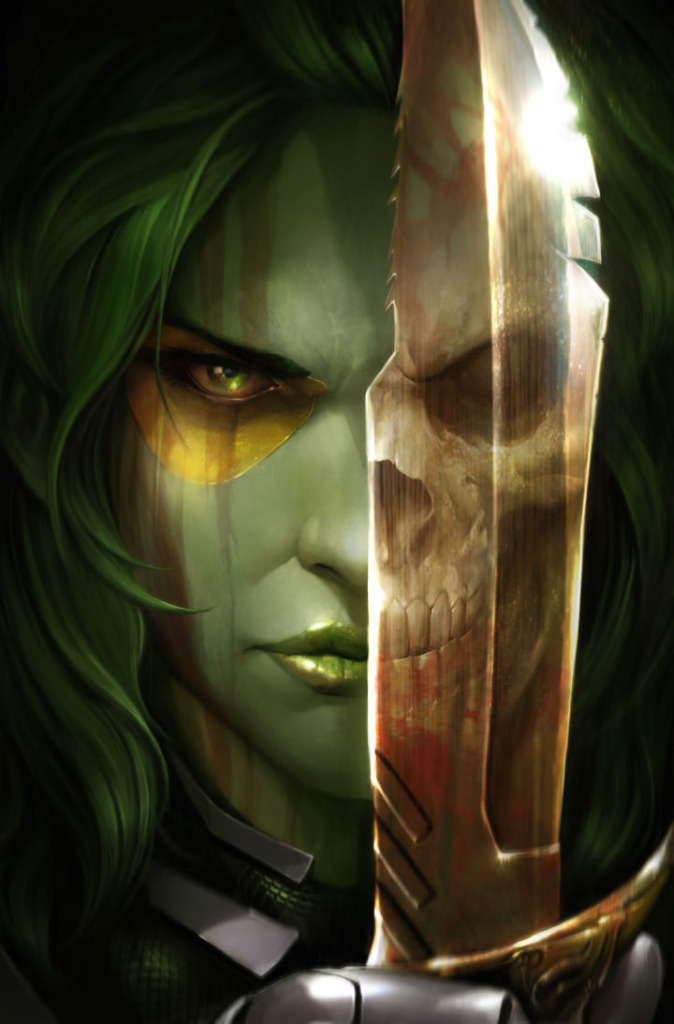 gamora cover art.  The ACTION PIXEL @theactionpixel