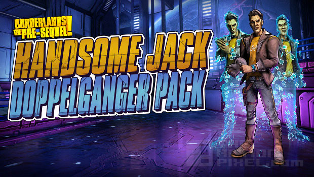 Handsome Jack THE ACTION PIXEL @theactionpixel