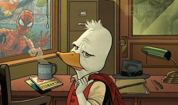 howard the Duck. © Marvel.  THE ACTION PIXEL @theactionpixel
