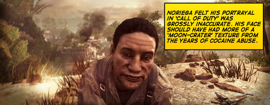 'Noriega' in Call Of Duty: Black Ops ©Activision THE ACTION PIXEL @theactionpixel