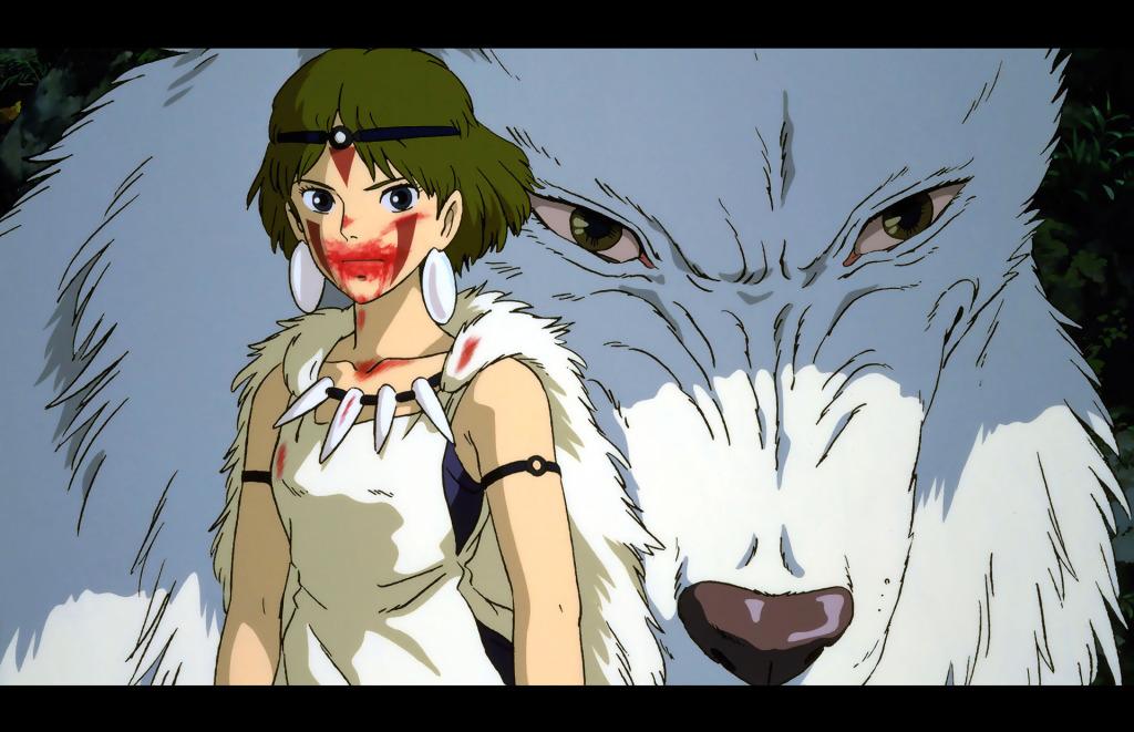 © Studio Ghibli. Princess Mononoke (1997) THE ACTION PIXEL @theactionpixel