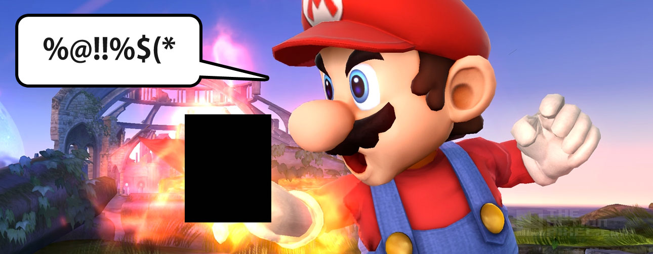 Super Smash Bros dole out bans THE ACTION PIXEL @TheActionPixel