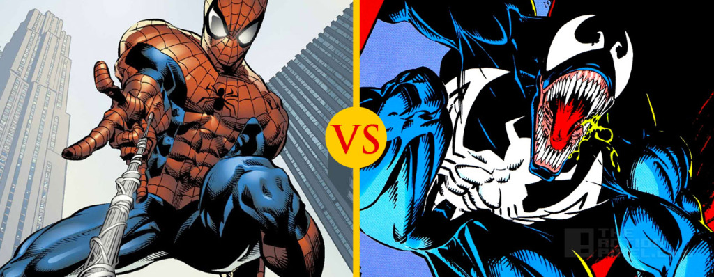Spiderman vs. Venom THE ACTION PIXEL @TheActionPixel