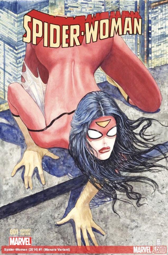 spiderwoman cover: THE ACTION PIXEL @theactionpixel