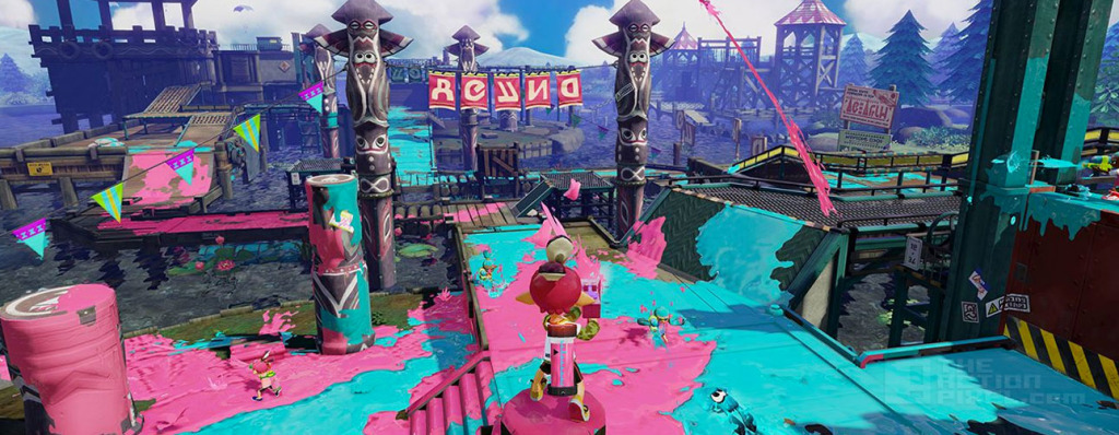 Splatoon THE ACTION PIXEL @theactionpixel