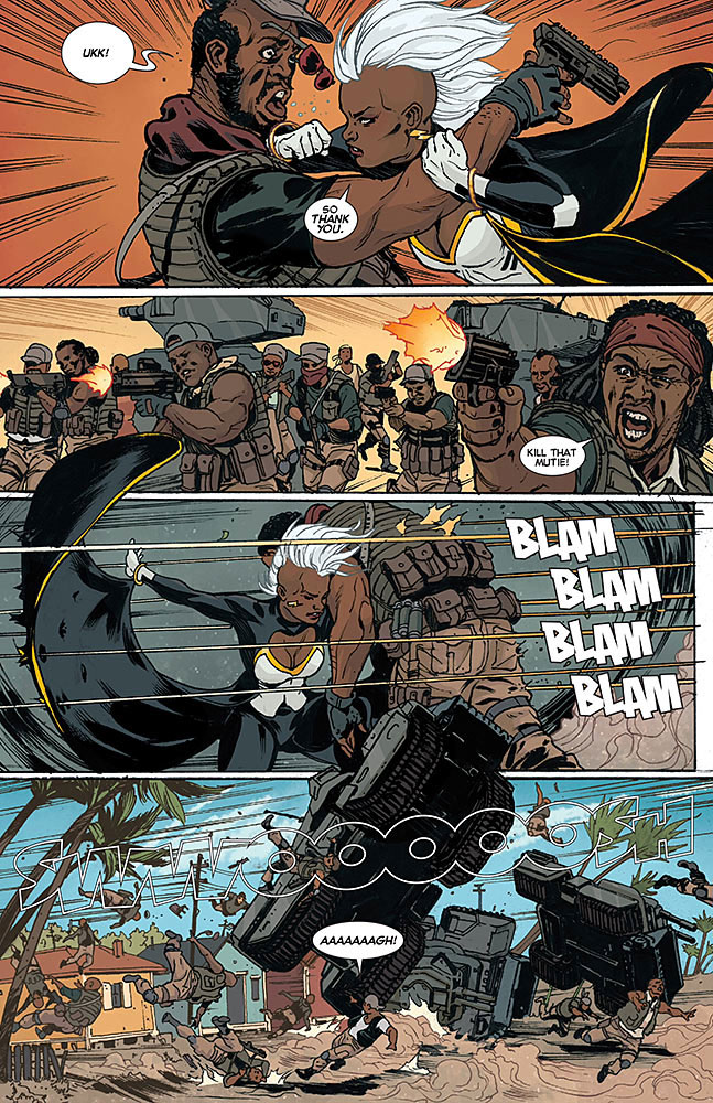 Storm Panel Art. © Marvel. The Action Pixel. @TheActionpixel