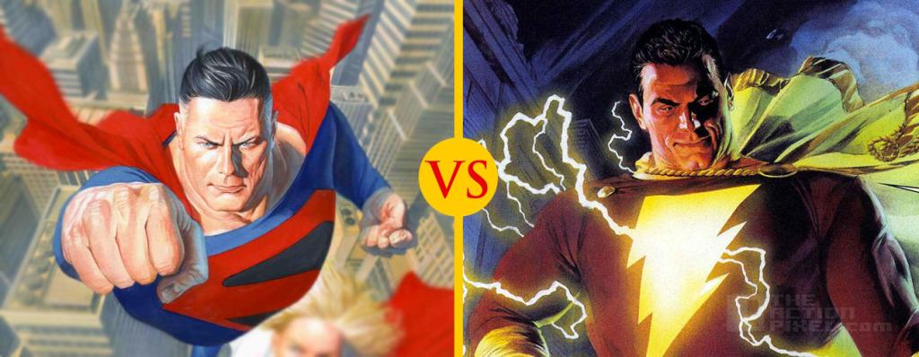 Superman and Captain Marvel THEACTIONPIXEL @TheActionPixel