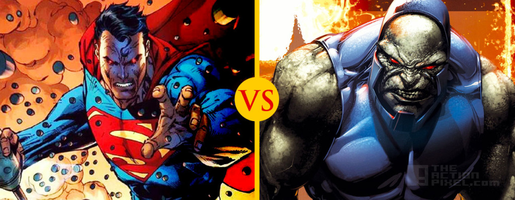Superman vs. Darkseid THEACTIONPIXEL @TheActionPixel