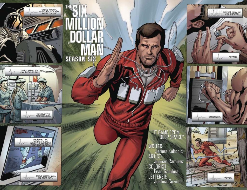 6 million dollar man season 6. The Action Pixel. @theactionpixel