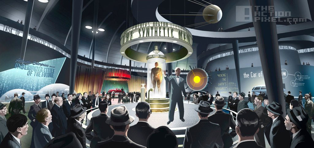 Captain America the synthetic man concept art. The Action Pixel. @TheActionPixel