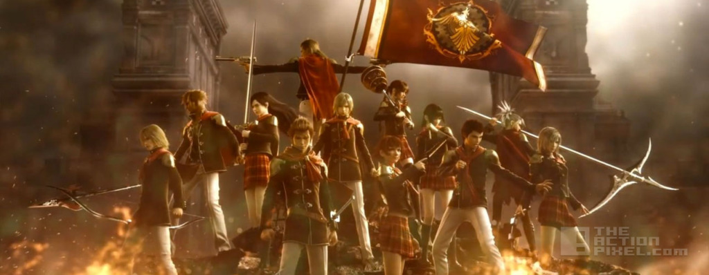 FINAL FANTASY TYPE 0 HD. THE ACTION PIXEL. @THEACTIONPIXEL