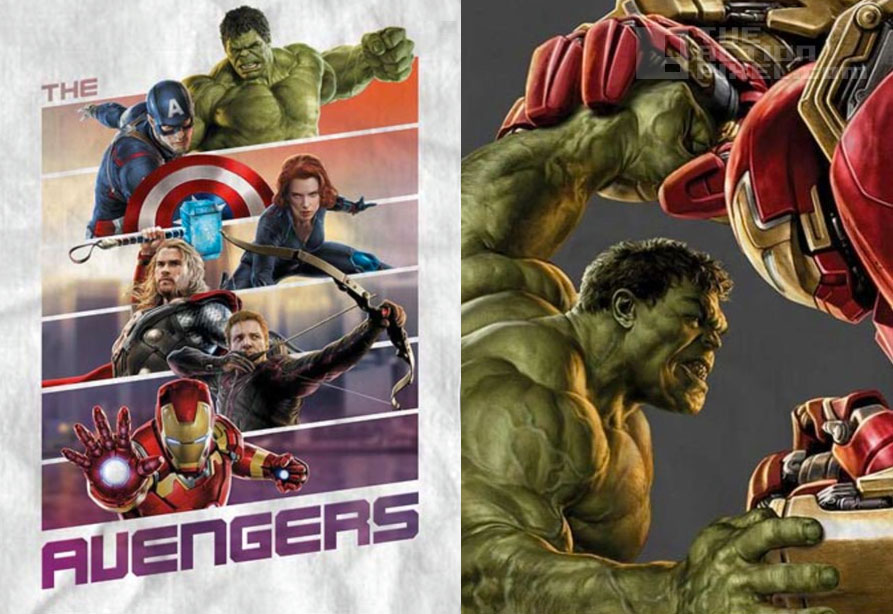 the avengers 2 concept art: Avengers team poster and IronMan  Hulk-ready suit. The Action Pixel. @theactionpixel