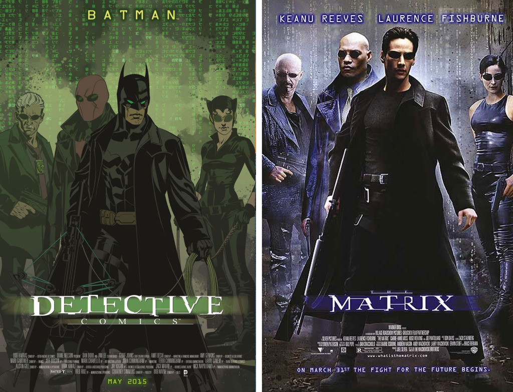 batman-matrix variant cover. The action pixel. @theactionpixel