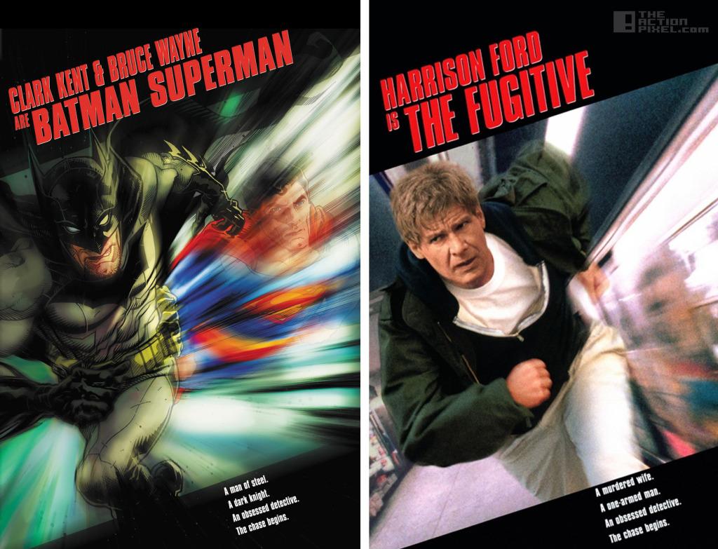 batman superman - fugitive dc comics variant cover. The Action Pixel. @theactionpixel