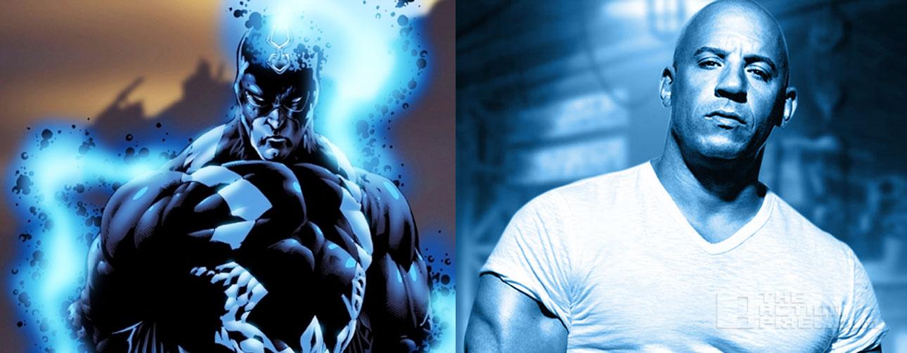 Diesel as black bolt in Marvel's Inhuman? The Action Pixel. @theactionpixel
