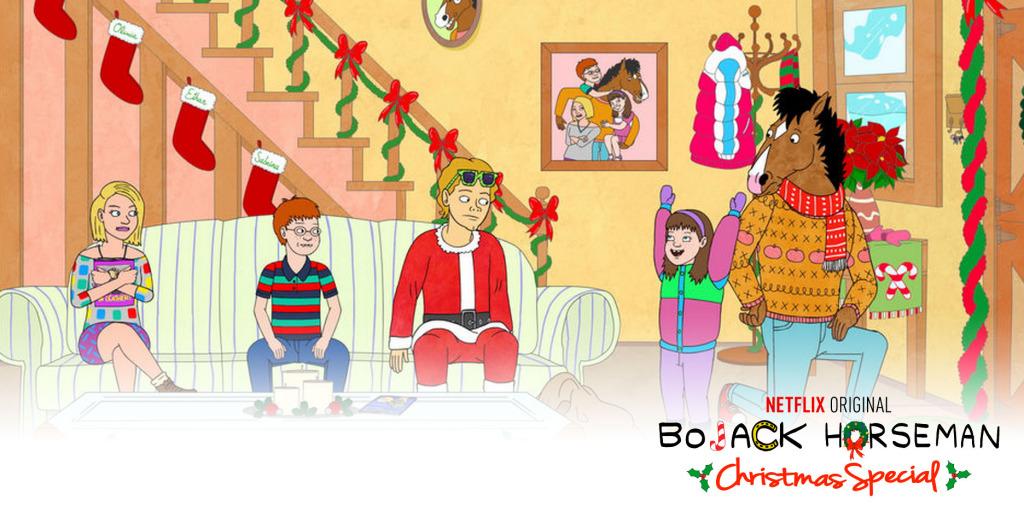 bojack horseman Christmas Special. The Action Pixel. @theactionpixel
