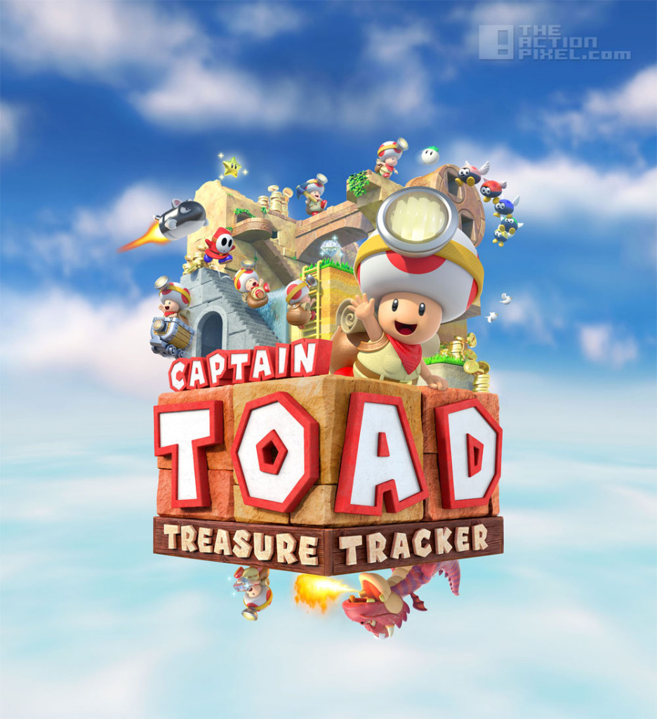 captain toad: Treasure tracker on WiiU. The action pixel. @TheActionPixel