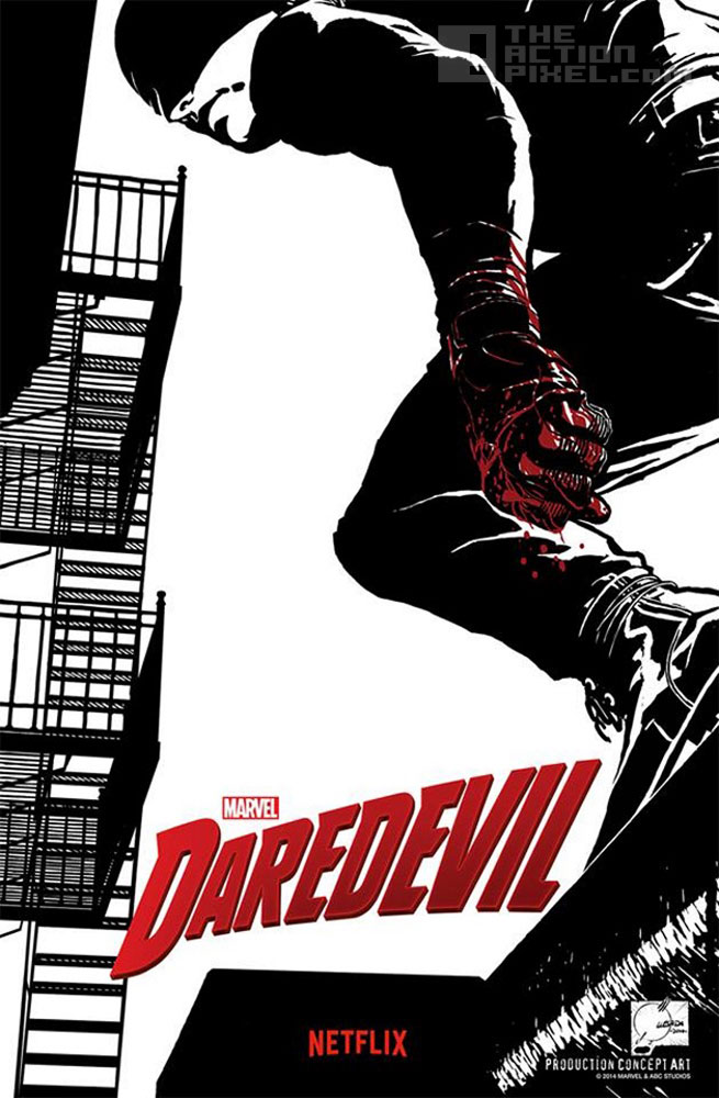 Daredevil. Netflix. marvel. the action pixel. @theactionpixel