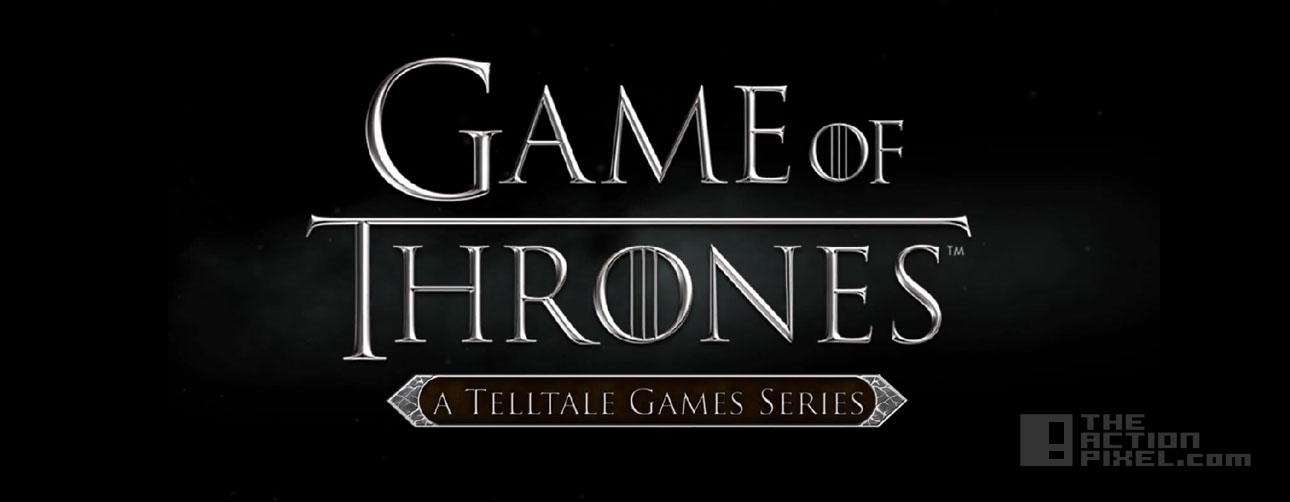 """Telltale Games' """"Game Of Thrones"""": iron from ice trailer. The Action Pixel. @TheActionPixel"""