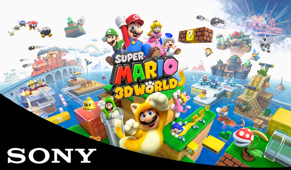 mario film to be made by Sony. The Action Pixel. @TheactionPixel