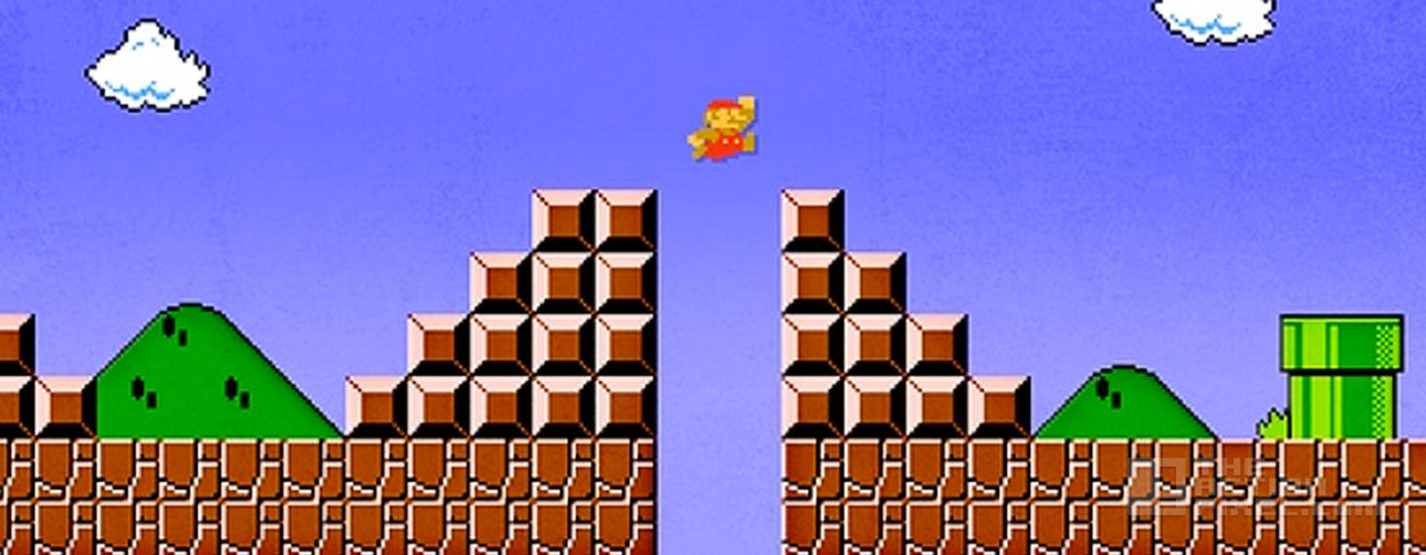 mario goes to hell. The Action pixel. @TheActionPixel