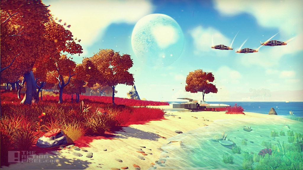 hello games' no mans sky. The action pixel. @theactionpixel