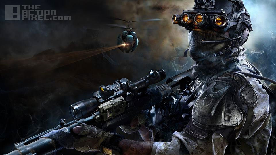 The Sniper: Ghost Warrior 3. The action Pixel. @theactionpixel