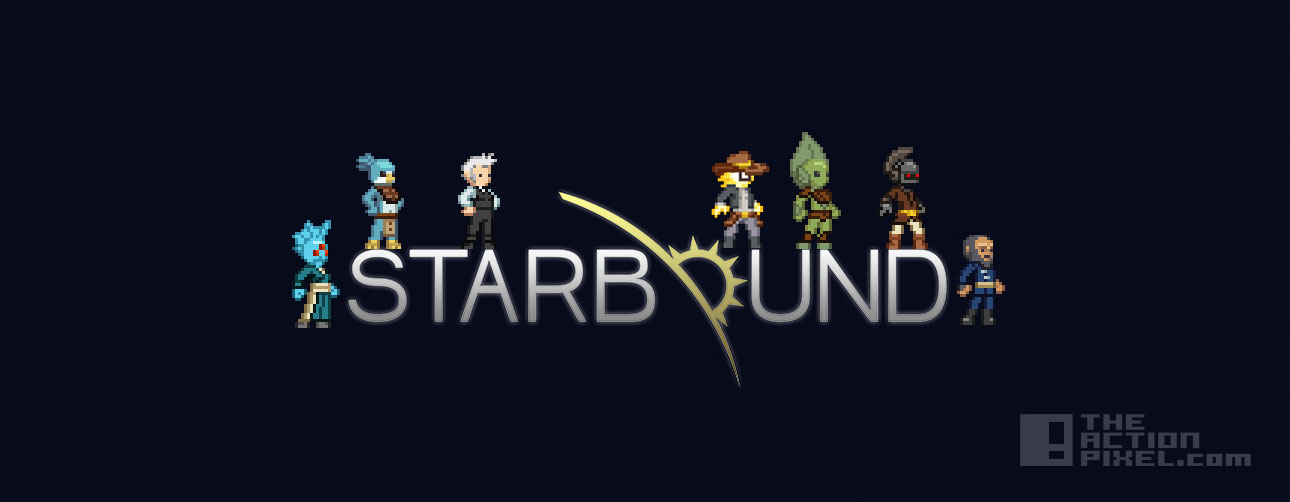 starbound Banner Update. The action pixel. @theactionpixel
