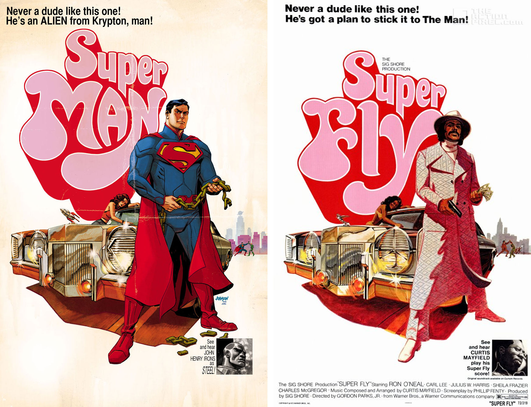 DC Comics Variant Comic / Film poster covers : The Action ...