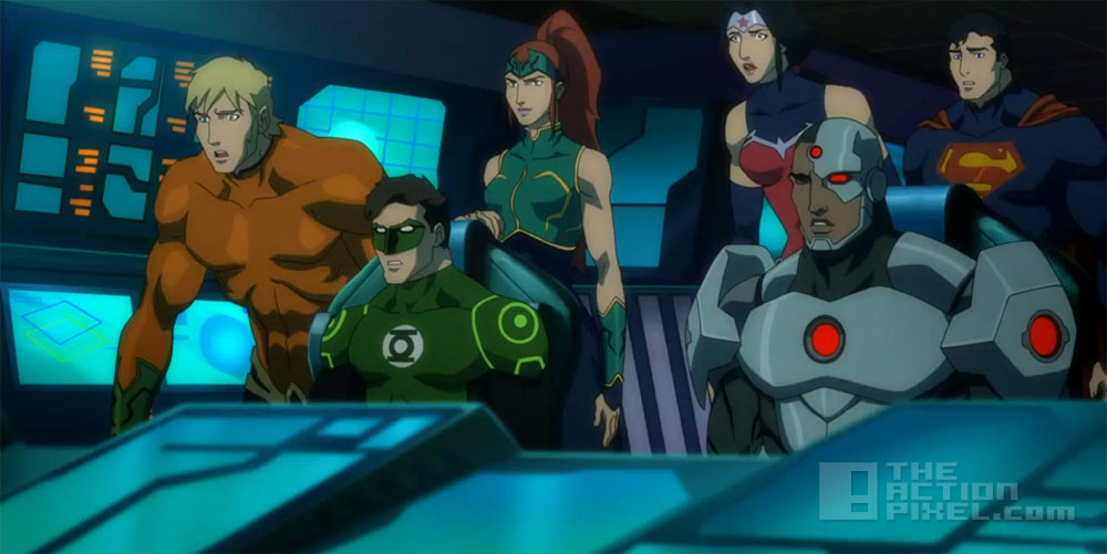 Justice League: throne of Atlantis. Dc comics. The Action Pixel. @TheActionPixel